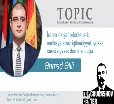 Əhməd Əlili. İranın prioritetləri: sanksiyasız iqtisadiyyat və ya xarici siyasi dominionluq