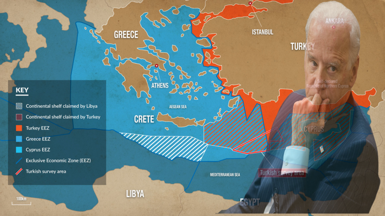 The United States and the Aegean dispute: what will change following Biden's election?