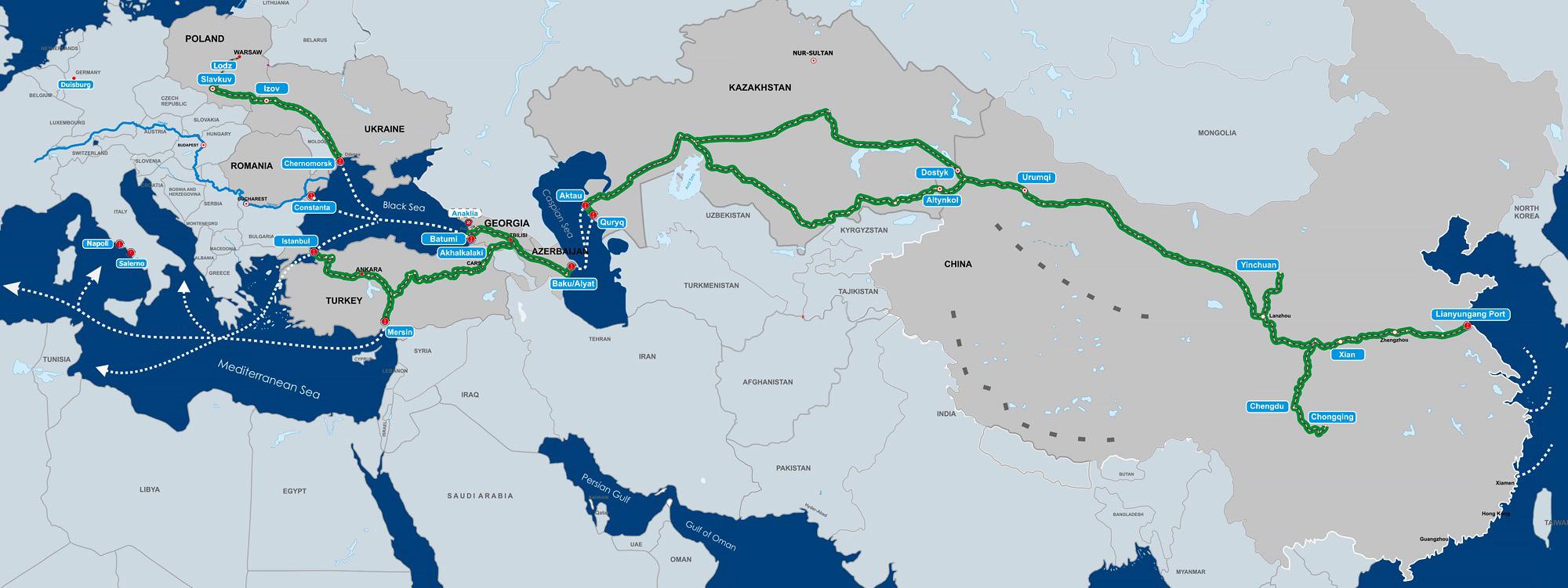 Cənubi Qafqazda nəqliyyat layihələri və Avropa Birliyi