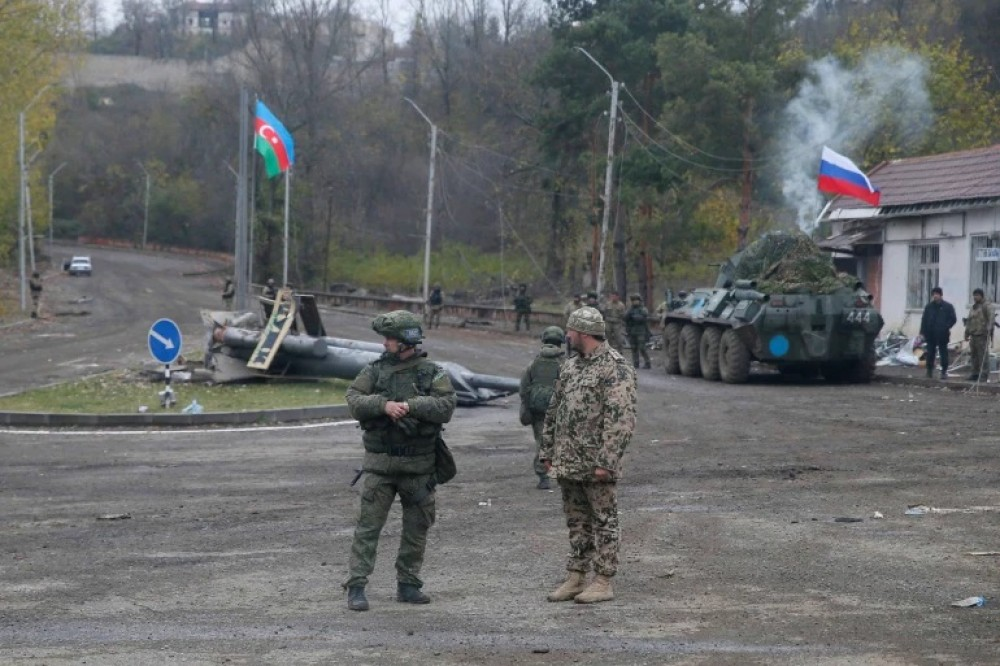 Economic impact of peacekeeping forces and the case of Karabakh