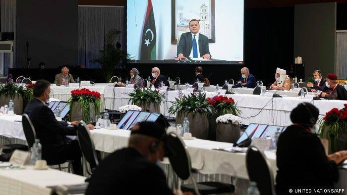 Libya`s transitional government and geopolitics