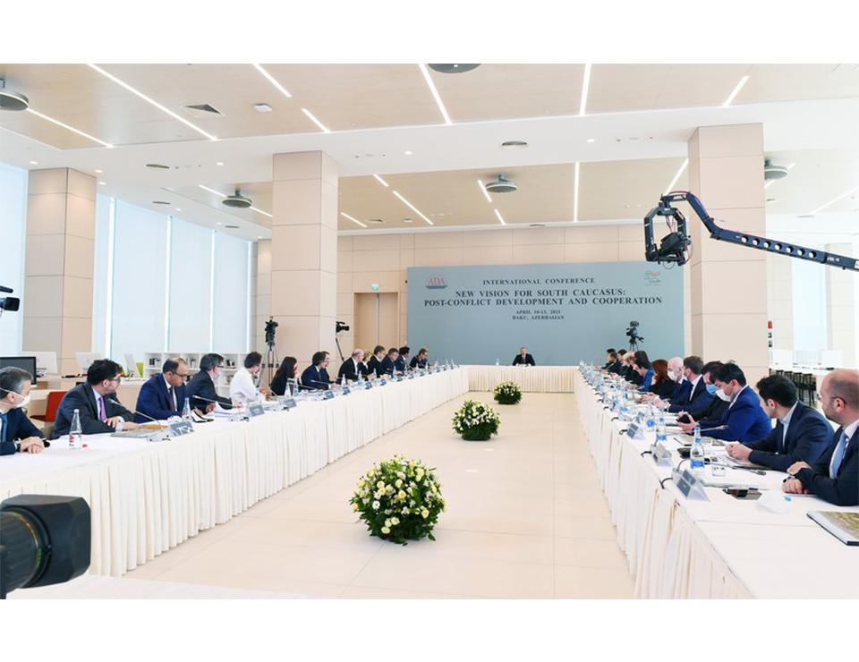President Aliyev's 13 April conference: talking points