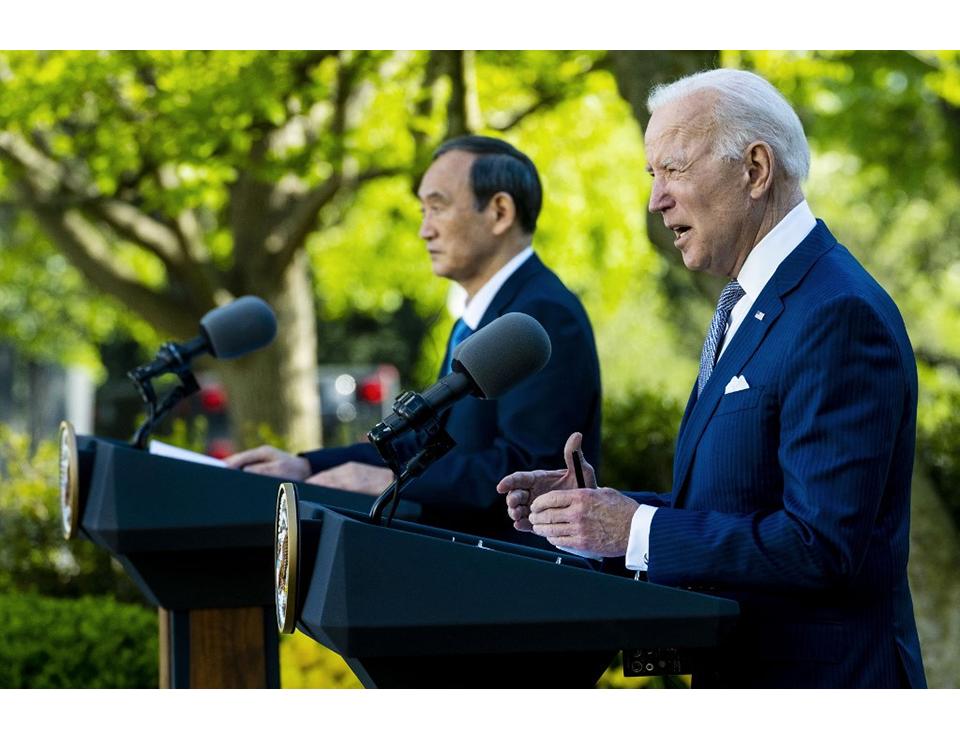 Recurring efforts: Biden - Suga summit