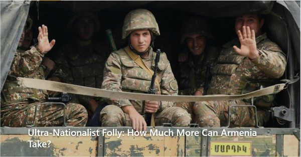Markar Melkonian`s latest article on Armenia