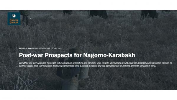 The International Crisis Group`s latest report on Karabakh