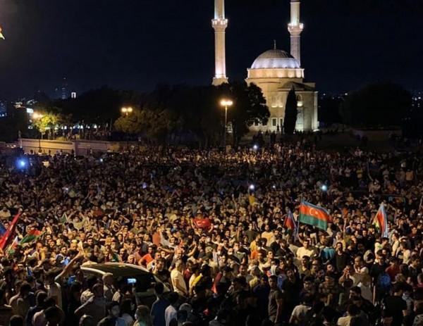 2020 Armenia-Azerbaijan Border Skirmishes and Reactions