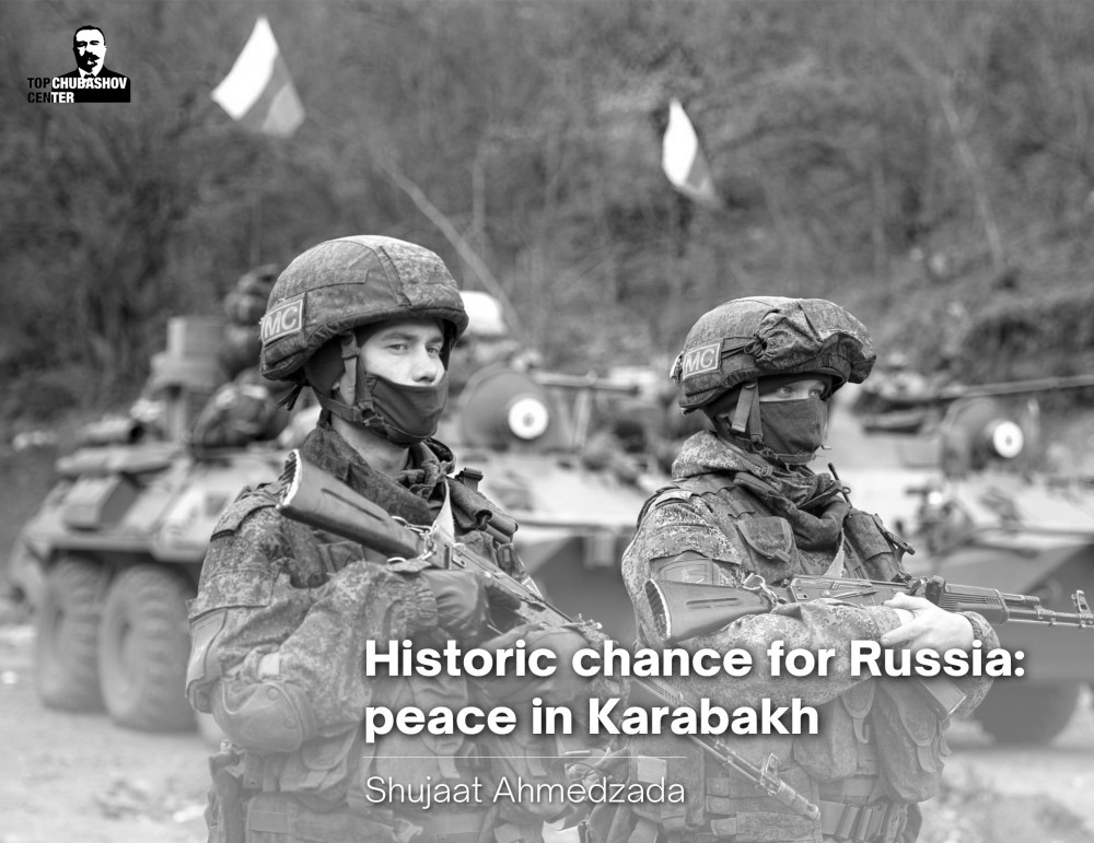Historic chance for Russia: peace in Karabakh