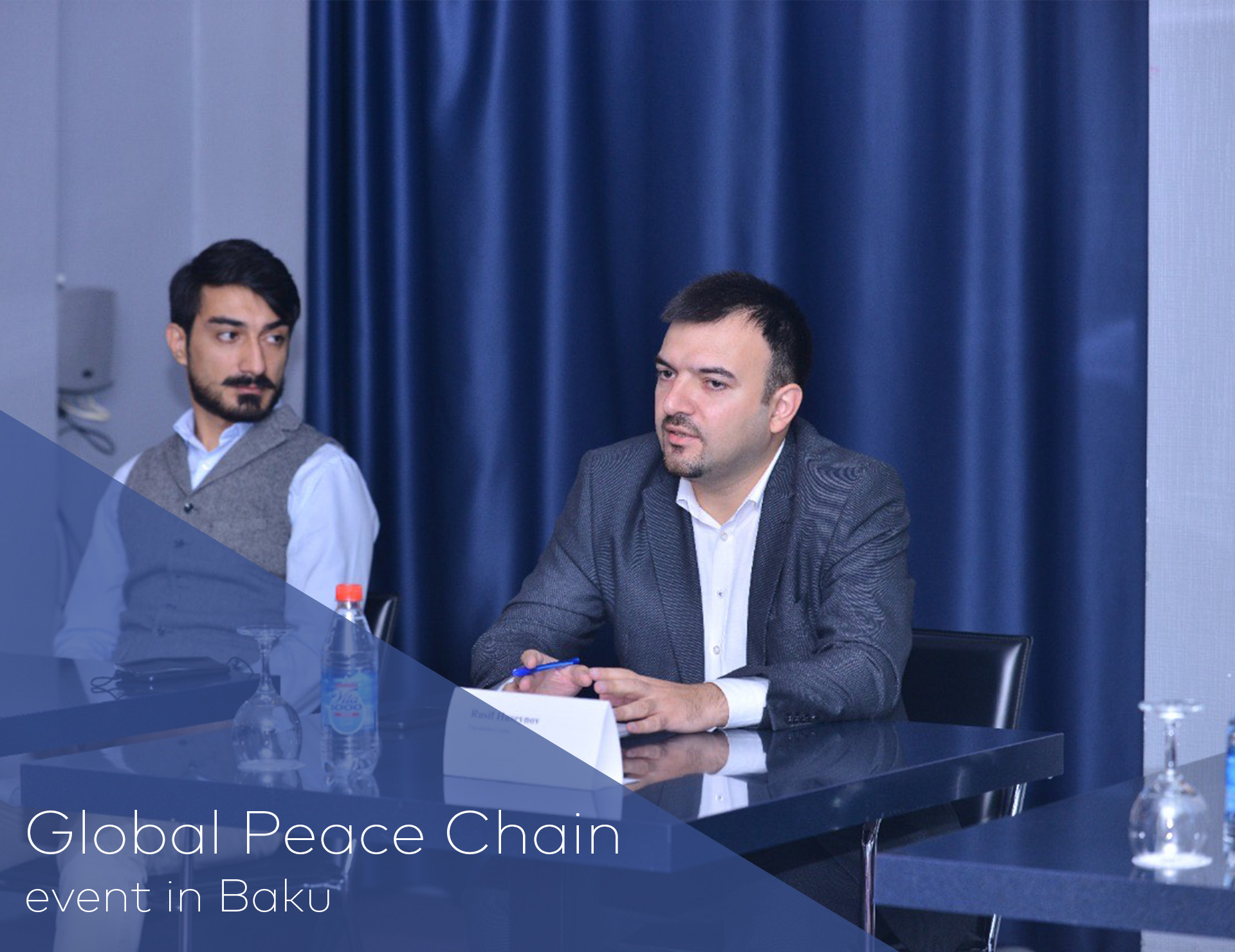 """""""Global Peace Chain"""" təşkilatının Bakı tədbiri"""
