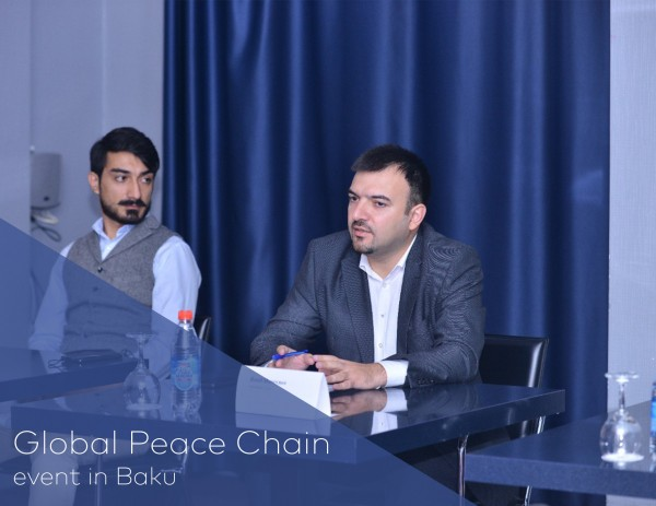 Global Peace Chain event in Baku