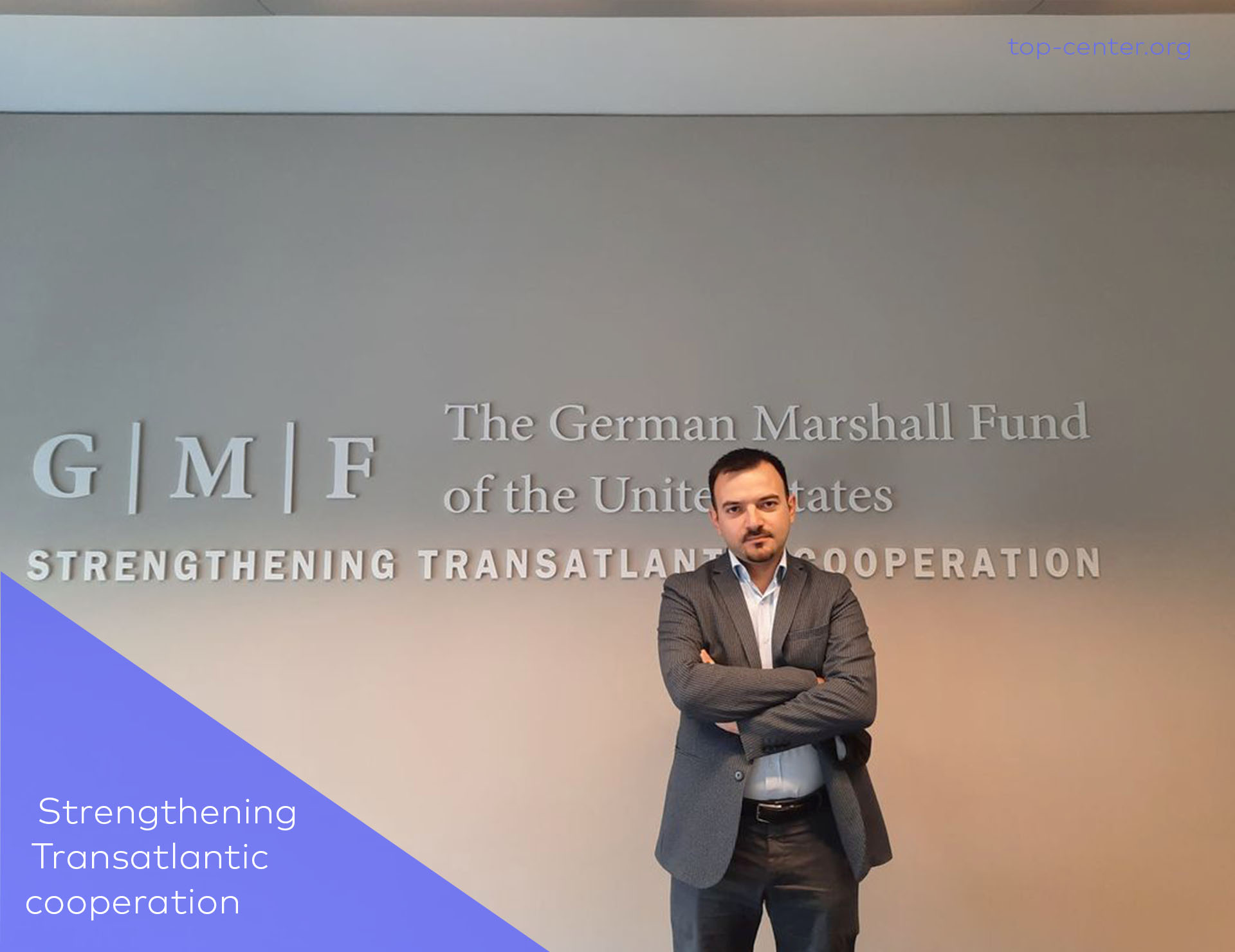 Rusif Huseynov attended a GMF-organized cohort gathering