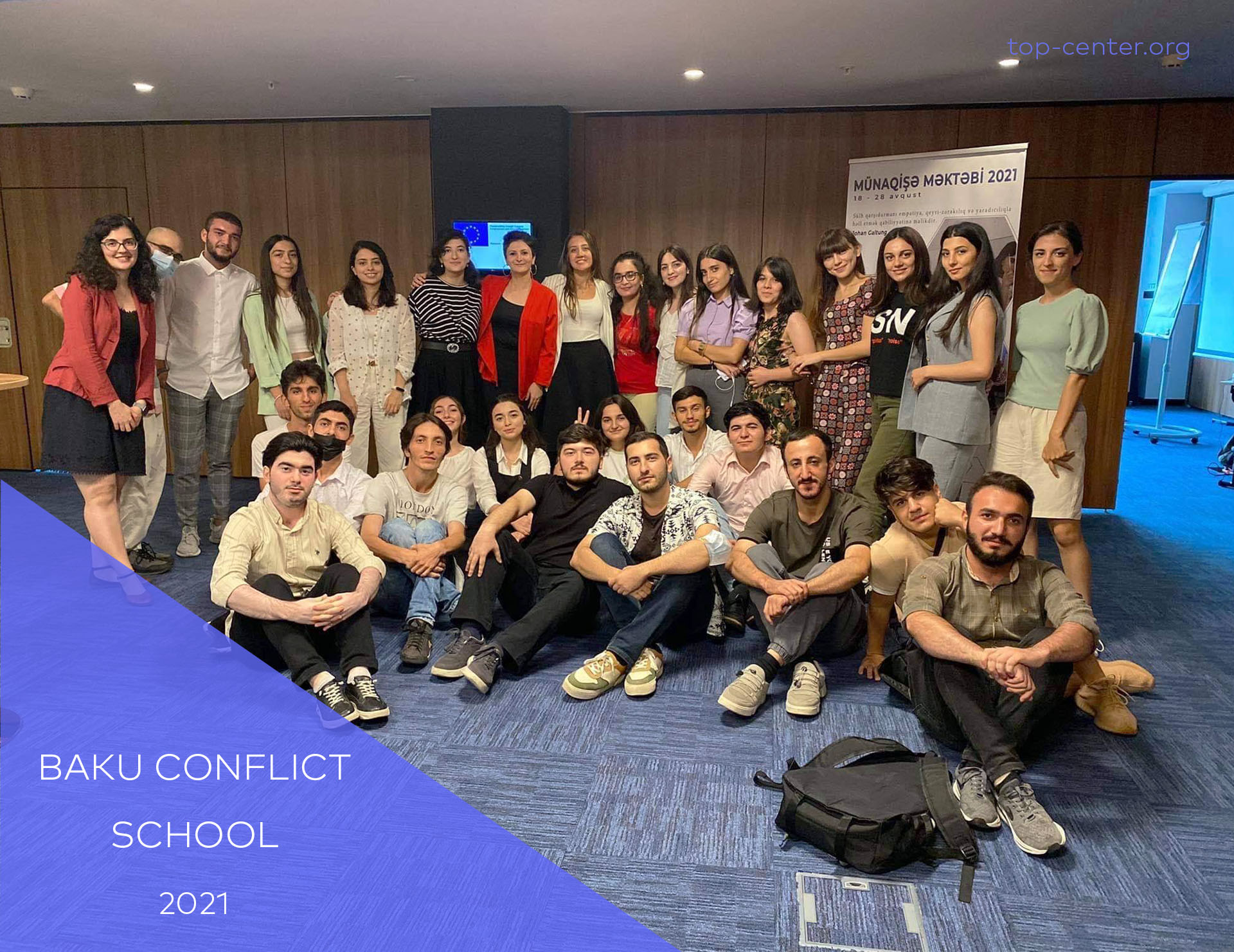Our fellows participated in Baku Conflict School 2021