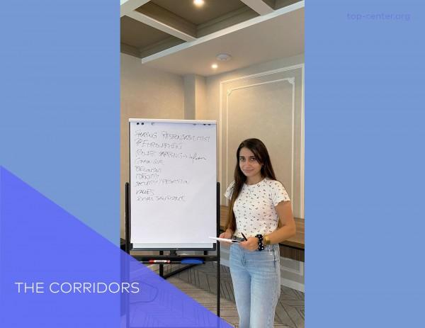 Our fellow Gulkhanim Mammadova participatedin the project organized by Corridors
