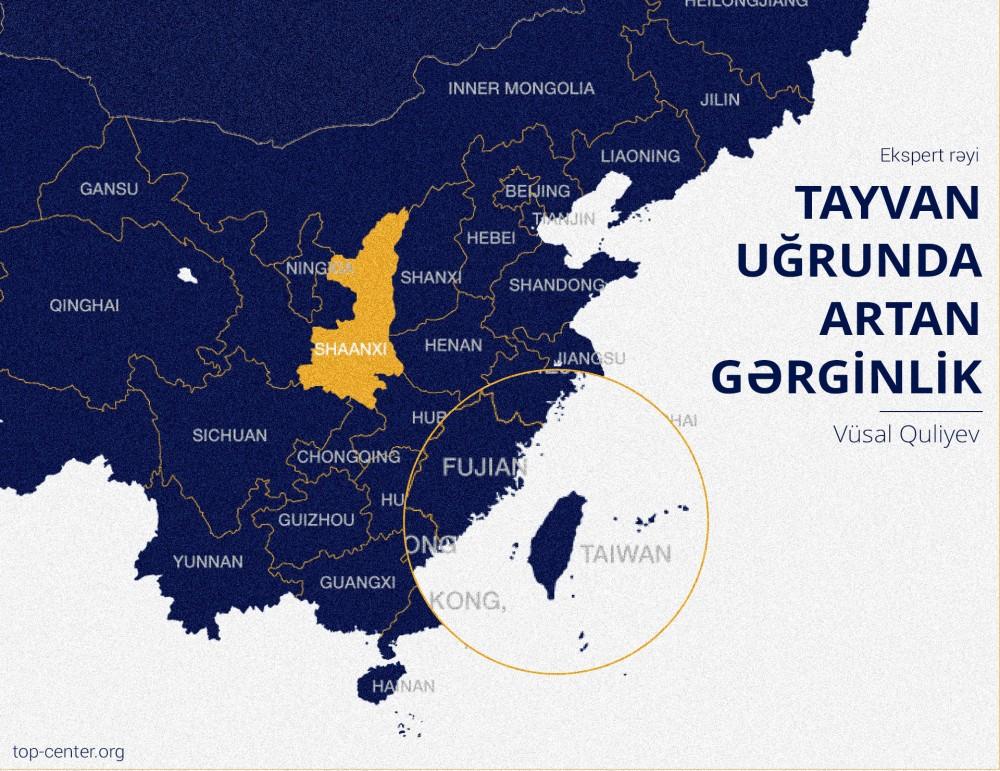 Rising tension over Taiwan