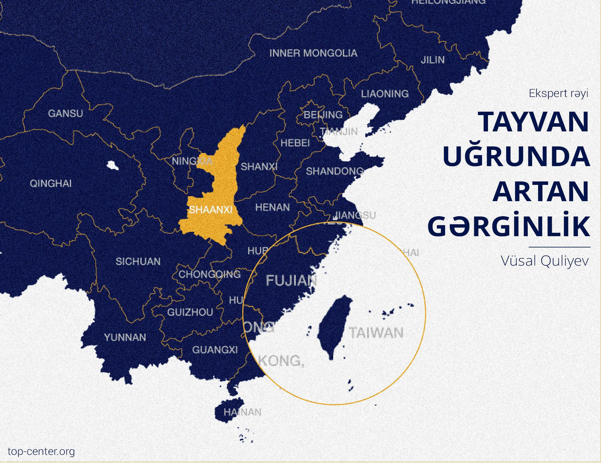 Tayvan uğrunda artan gərginlik
