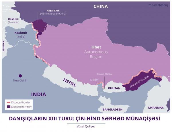 Danışıqların XIII turu: Çin-Hind sərhəd münaqişəsi