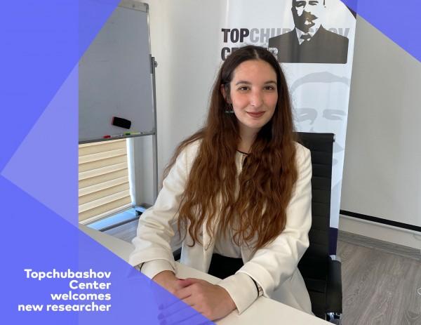 Topchubashov Center welcomes new researcher